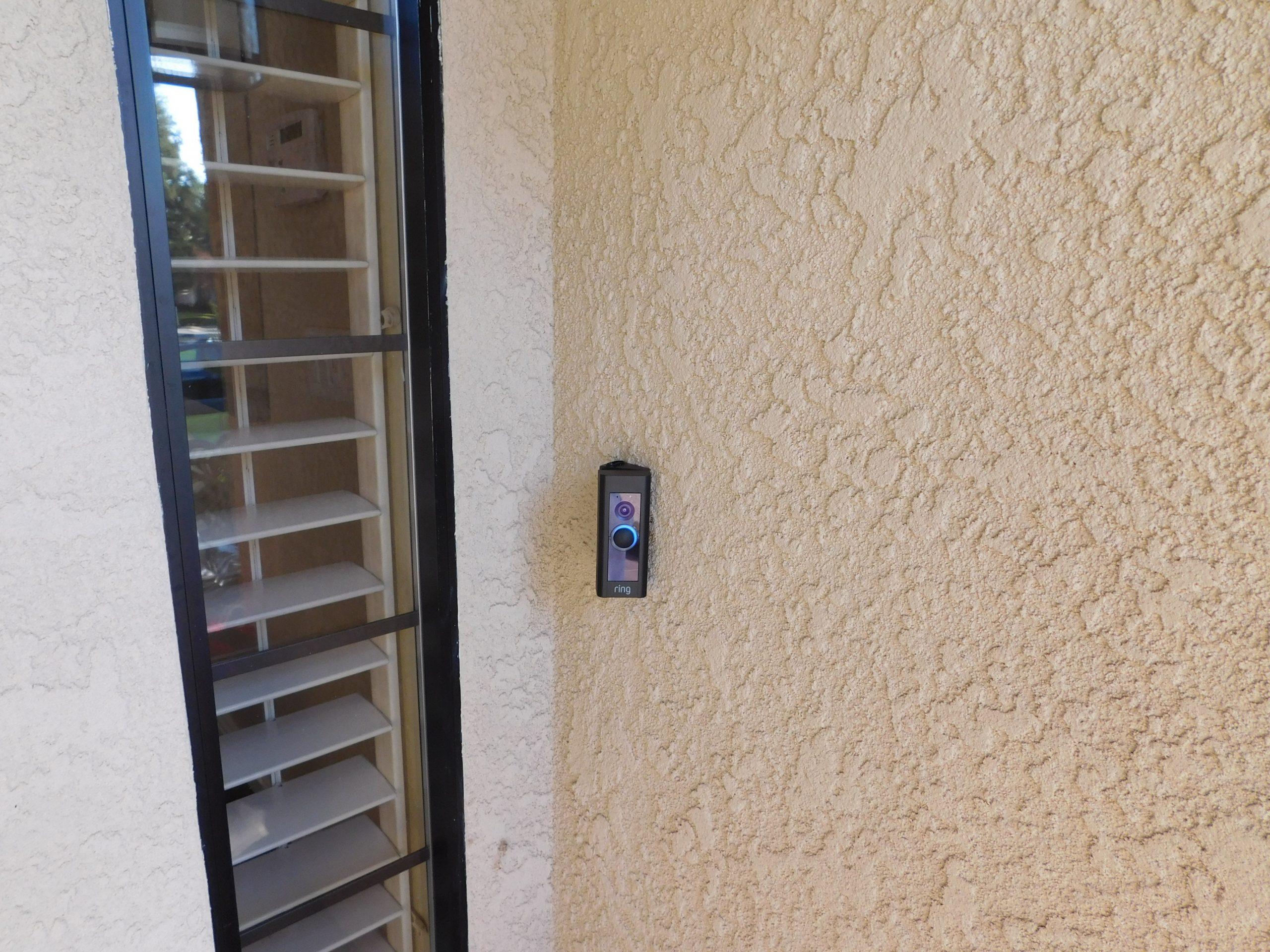 Ring Security Camera Install