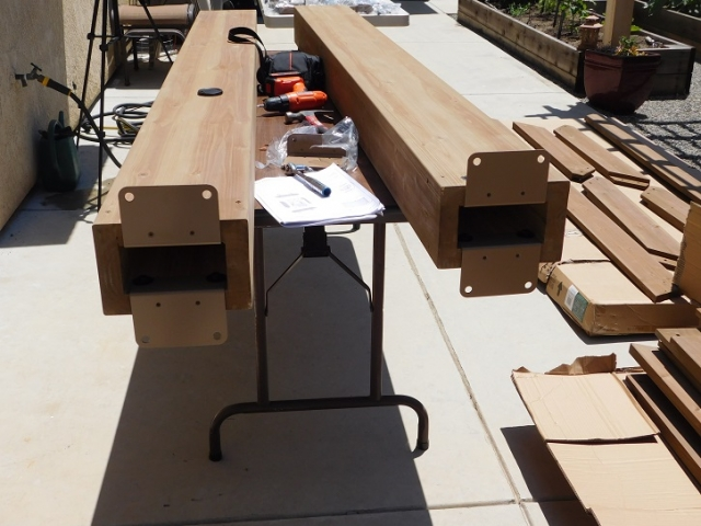 Columns and Anchor Plates