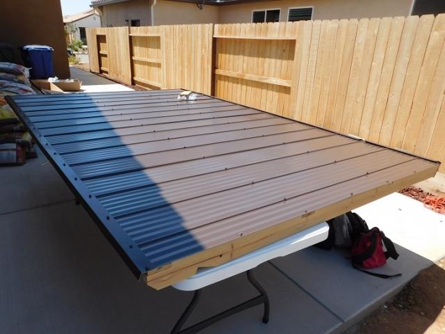 Assembled Gazebo Roof Panel