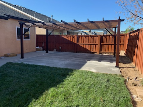 Pergola Assembly Fresno California