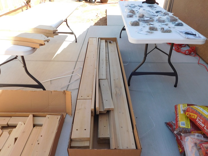 Yardistry Gazebo Parts in the Box