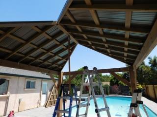 Gazebo Large Roof Connection