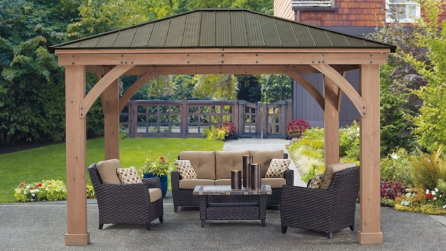 12 X 14 Yardistry Gazebo Assembly Services