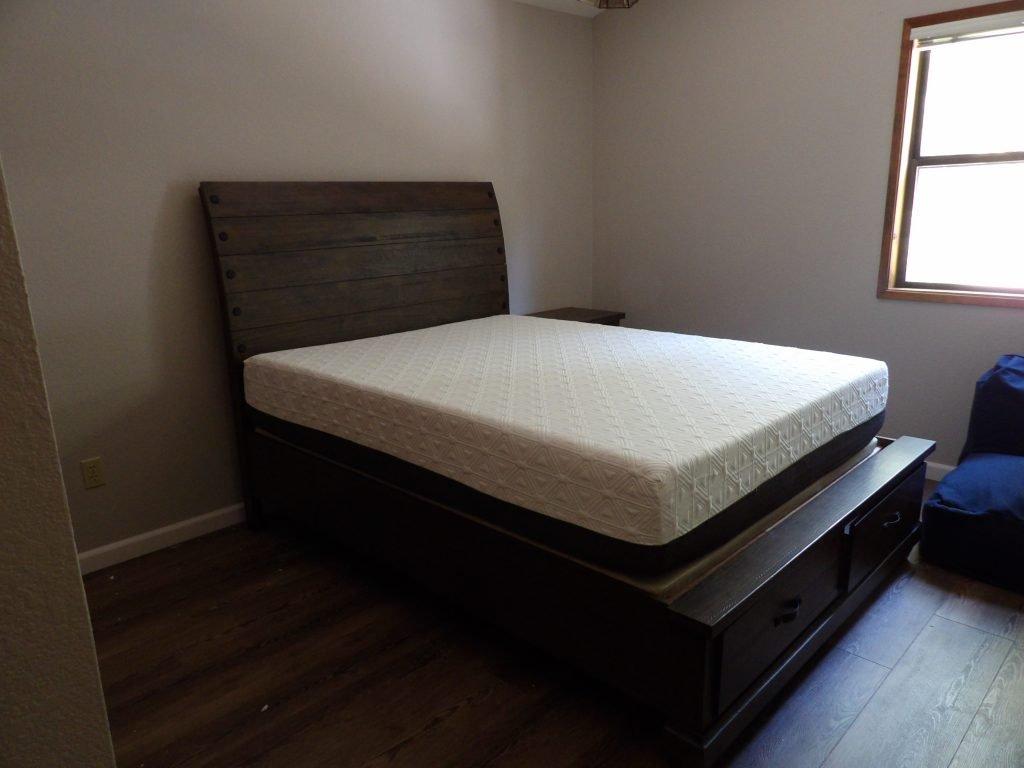 Assembled Queen Bed.
