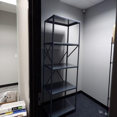 Built Metal Storage.