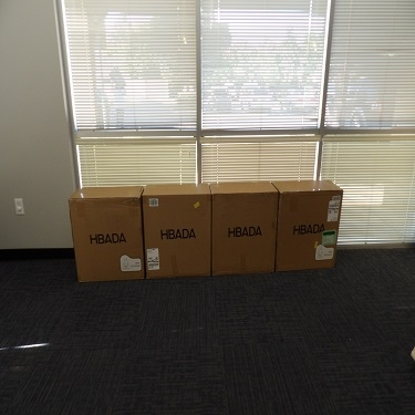 Assembly of Office Chairs