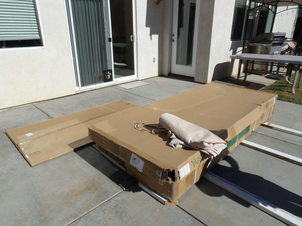 Costco Gazebo Boxes