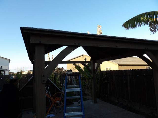 Adding a Yardistry Gazebo Roof